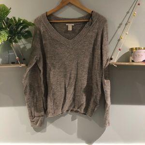 🌸H&M || Pink & Grey Knit